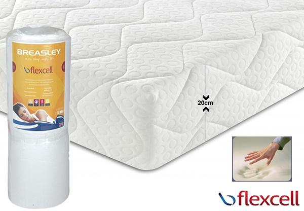 Breasley Flexcell 1000 Zoned Memory Foam Mattress