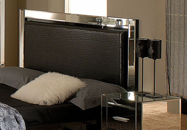 Mirror bed frame