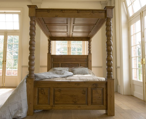 ... Revival Collection Ambassador Four Poster Solid Pine Bed line