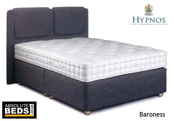 Hypnos heritage baroness pocket sprung divan bed set for Best value divan beds