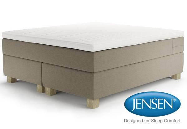 jensen supreme continental bed set including tempsmart topp best price. Black Bedroom Furniture Sets. Home Design Ideas