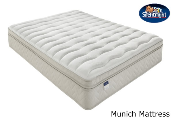 silentnight select munich miracoil latex with acupressure. Black Bedroom Furniture Sets. Home Design Ideas