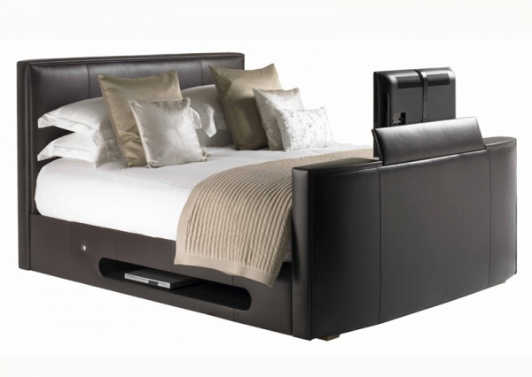 Leather New York Tv Bed Including Lg Television Best Price
