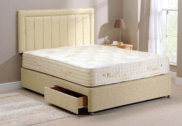 Old English Helena 1800 Pocket Divan Bed Set Best Price