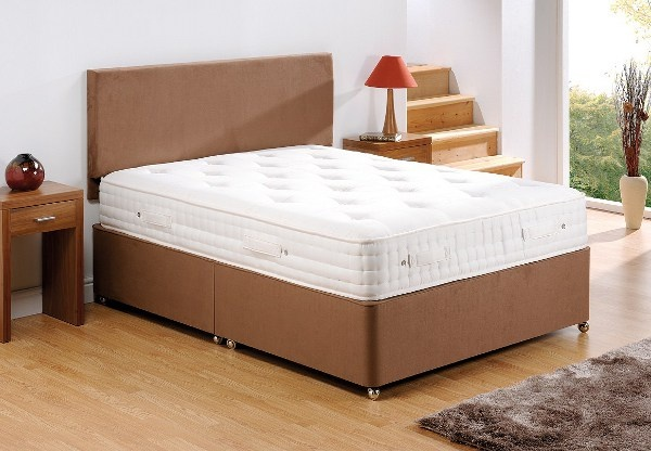 Old english memory pocket 1800 mattress best price for Divan in english