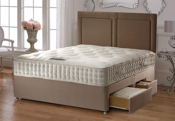 Staples cleopatra 1600 pocket spring mattress best price for Best value divan beds