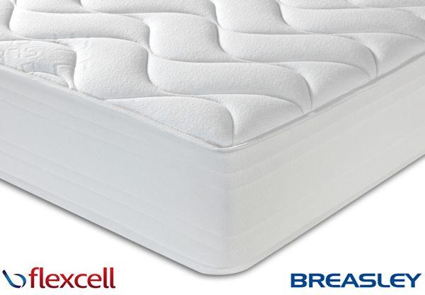 Breasley Flexcell 1000 Zoned Memory Foam Mattress 37