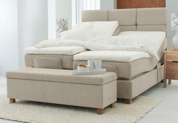 Best Value Adjustable Beds : Jensen essential aqtive iii adjustable bed including