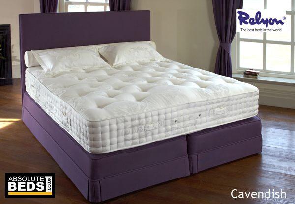 Relyon cavendish 2400 pocket divan bed set best price for Best value divan beds