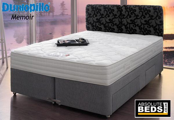 Dunlopillo Memoir Latex Divan Bed Set