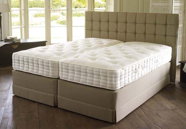 Hypnos heritage president pocket sprung divan bed set for Best value divan beds