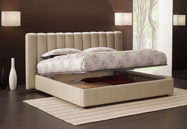 IDP Aperto Low Contemporary Ottoman Bed Frame : Best Price