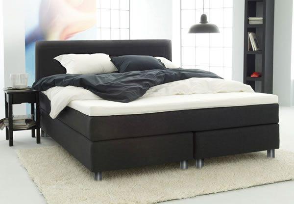 Jensen vision continental bed set including sofline i for Divan footboard