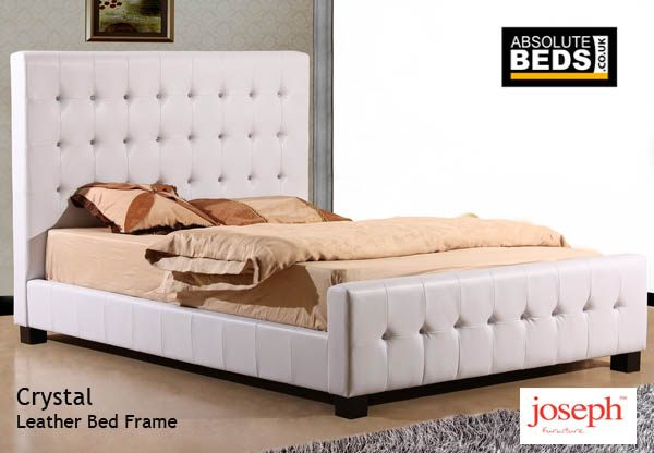 Joseph Crystal Faux Leather Bed Frame Best Price