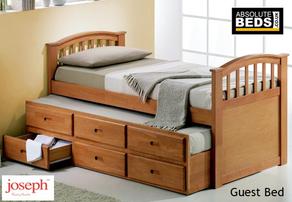 Joseph Guest Bed With  Storage Drawers