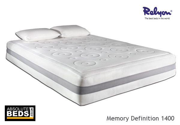 Relyon Memory Definition 1400 Pocket Mattress Best Price