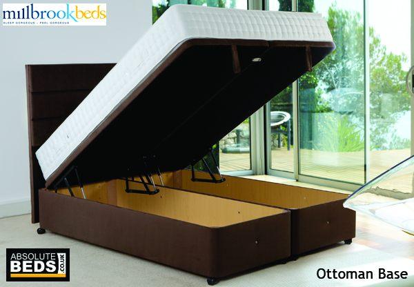 Millbrook Lift Up Ottoman Storage Base