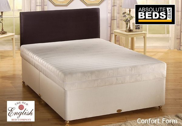 Old english no turn comfort form divan bed set best price for Divan in english
