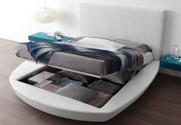 Presotto Zero Lift Up Storage Bed Frame Best Price