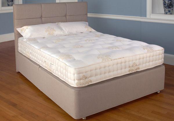 Relyon braemar 1400 pocket divan bed set best price for Best value divan beds