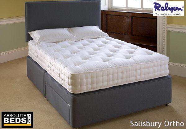 Relyon salisbury ortho 1000 pocket divan bed set best price for Best value divan beds