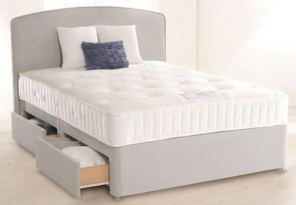 Sealy anniversary collection jubilee ortho divan bed set for Best value divan beds