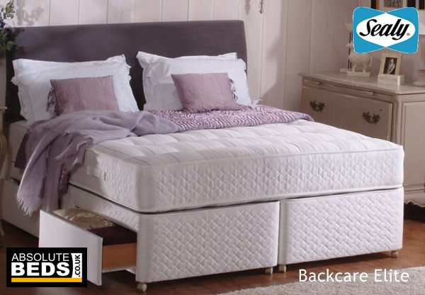 Sealy Ortho Collection Backcare Elite Divan Bed Set Best