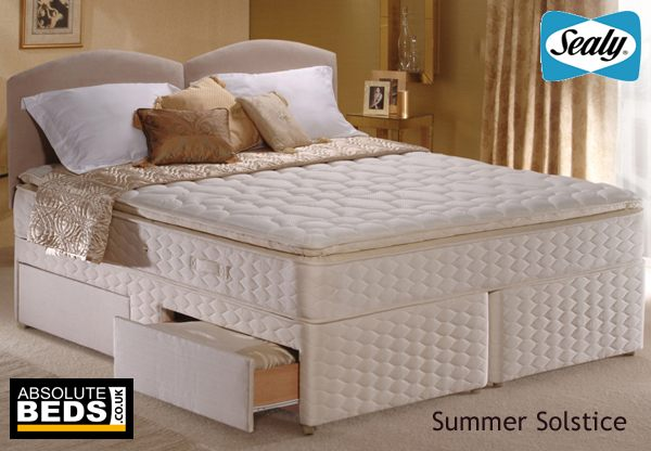 Sealy Posturepedic Gold Collection Summer Solstice Divan Bed Set Discontinued