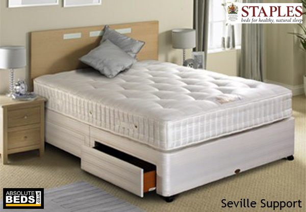 Staples Seville Support 1000 Pocket 5ft King Size Mattress Discontinued