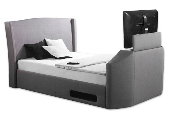 Sleep secrets kensington electric wireless tv bed best price for Best price for beds