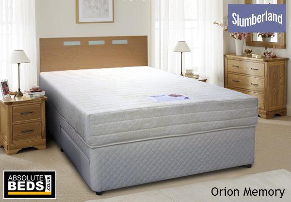 Slumberland Postureflex Purple Seal Memory Divan Bed Set