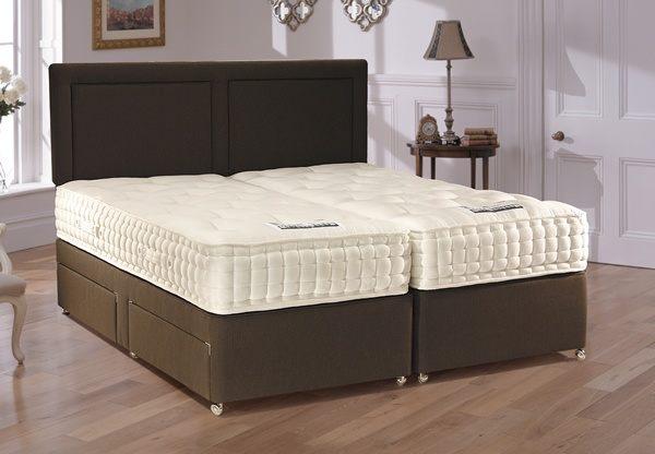 Staples britannia 4000 pocket spring divan bed set best for Pocket sprung divan set