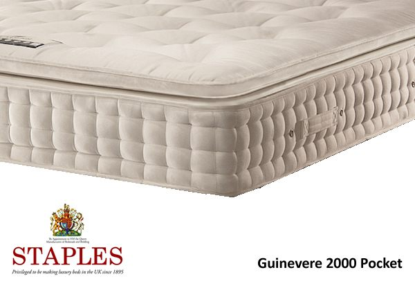Staples Guinevere 2000 Pocket Spring And Latex Mattress