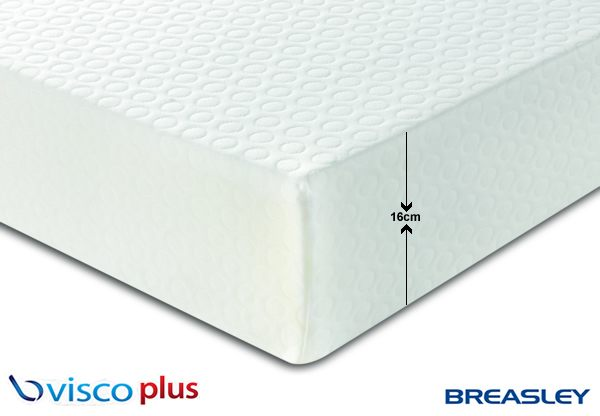 breasley valuepac graduate visco plus high density foam mattress