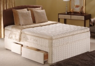 Sealy Posturepedic Gold Collection Autumn Mist Divan Bed Set