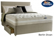 Silentnight Select Single Size Berlin 1550 Miracoil Minipocket Acupressure Pad Divan Bed