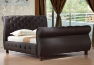 Birlea Canterbury Leather Sleigh Bed Frame