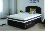 Breasley Duo Comfort Pocket 1200 Reversible Top Memory Foam and Pocket Spring Mattress - 37? Fabric Cover