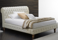 Absolute Beds Collection Capri Leather Bed Frame