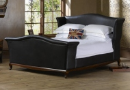 Frank Hudson Wing Luxurious Upholstered Bed Frame