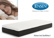 Jensen Vision Mattress Including Sofline I Topper