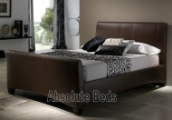 Kaydian Hauxley Leather Bed Frame
