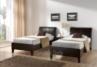 Kaydian Oxford Faux Leather Bed Frame