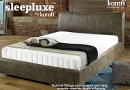Komfi Sleepluxe Pocket Latex Plus Mattress