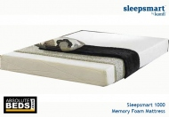 Komfi Sleepsmart 1000 Memory Foam Mattress