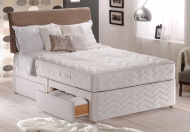 Sealy Posturepedic Silver Collection Memory Support Divan Bed Set