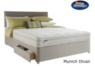 Silentnight Select Munich Miracoil Latex With Acupressure Pad Divan Bed Set