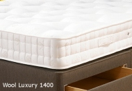 Old English Wool Luxury 1400 Pocket Sprung Mattress
