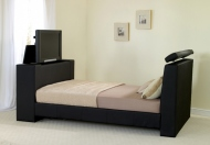 Prado Leather TV Bed