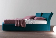 Presotto Reflex Modern Upholstered Ottoman Bed Frame